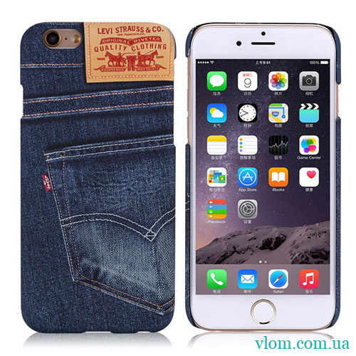 Чохол Levi Strauss for iPhone 6/6s