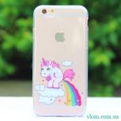Чохол Єдиноріг Poop for iPhone 6/6s