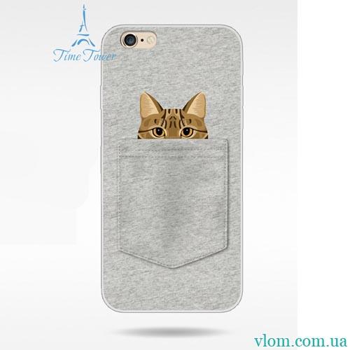 Чохол кіт і собака на Iphone 6 plus