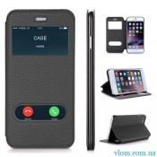 Чохол шкіряний flip на Iphone 6 plus