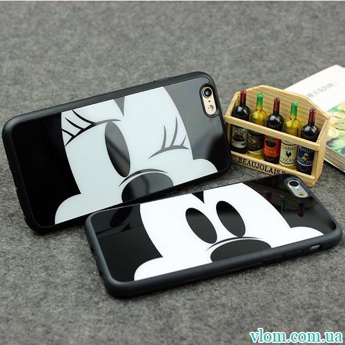 Чохол Mickey Minnie Mouse на Iphone 6 plus
