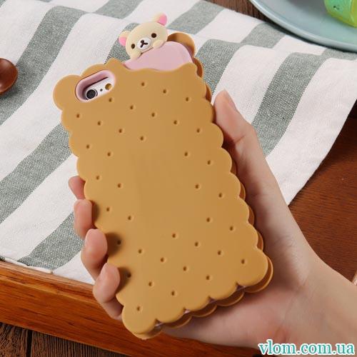 Чохол печенько на Iphone 6 plus
