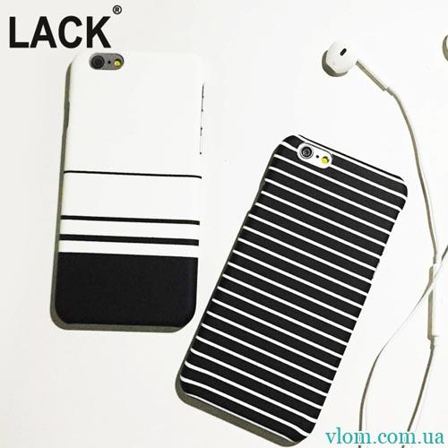 Чохол смужки зебри LACK на Iphone 6 plus
