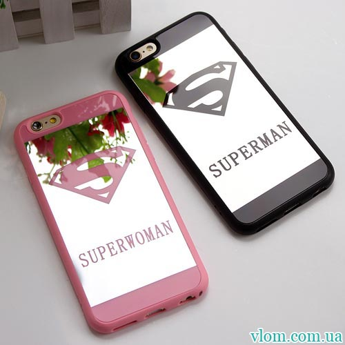 Чохол super man & woman на Iphone 6 plus