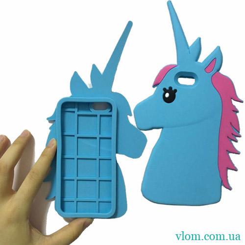 Чохол 3D Єдиноріг на Iphone 6/6s PLUS