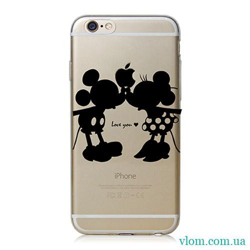 Чохол Mickey Love на Iphone 6/6s PLUS