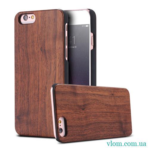 Чохол Дерев'яний Накладка FLOVEME на Iphone 6/6s;