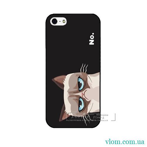 Чохол похмурий кіт на Iphone 7/8 PLUS
