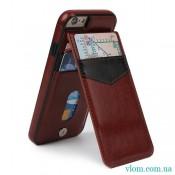 Чохол шкіряний гаманець на Iphone 7/8 PLUS