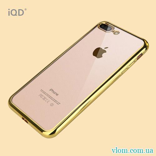 Чохол золота рамка на Iphone 7/8 PLUS
