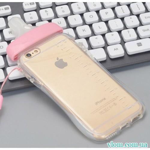 Чохол рожева соска на Iphone 7/8 PLUS