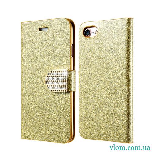 Чохол золотий пісок на Iphone 7/8 PLUS