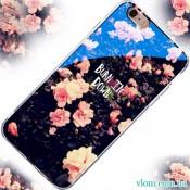 Чохол квіти на Iphone 7/8 PLUS