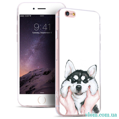Чохол мультяшний пес на Iphone 7/8 PLUS