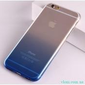 Чохол синій градієнт на Iphone 7/8 PLUS