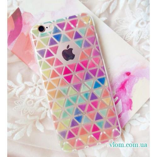 Чохол кольоровий на Iphone 7/8 PLUS