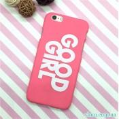 Чохол рожевий Good Girl на Iphone 6/6s