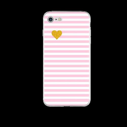 Чохол силіконовий Рожевий на Iphone 6/6s plus