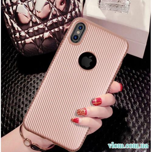 Чохол Карбон на Iphone X 10
