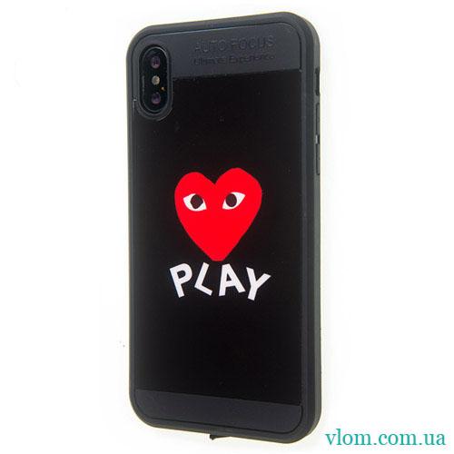 Чохол Серце на Iphone X 10