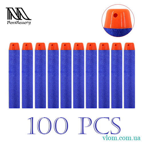 Патрони м'які для Nerf 100 шт