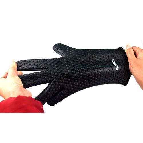 Харчові термостійкі силіконові рукавички для кухні та гриля