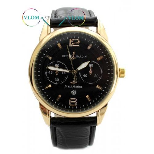 Купити недорого в інтернет магазині чоловічий золотий годинник ... d283e664dc65c