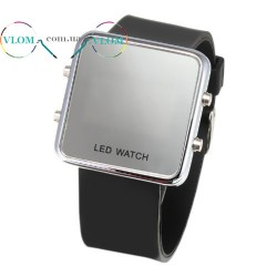 Чоловічий годинник дзеркальний LED