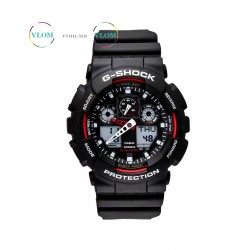 Чоловічий годинник Casio G-Shock Ga 100 red edition
