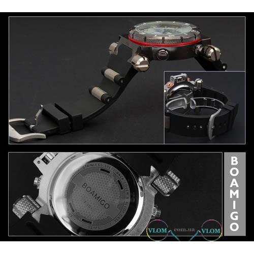 Чоловічий брутальний годинник Boamigo 101
