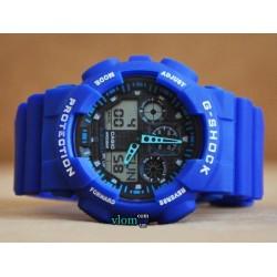 Чоловічий годинник Casio G-Shock Ga 100 Синій
