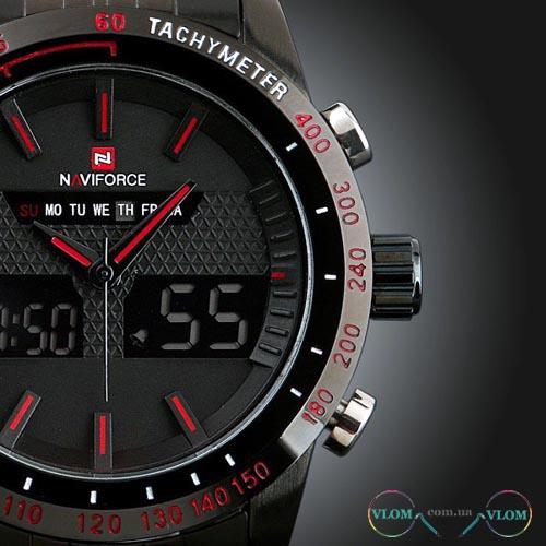 Чоловічий LED годинник Naviforce 9024