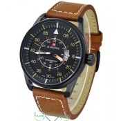 Чоловічий сучасний годинник Naviforce 9044