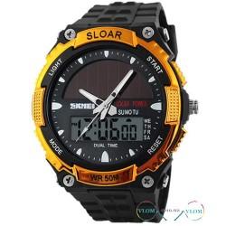Чоловічий годинник Skmei Sloar 1049 сонячна батарея