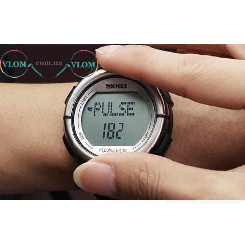 Чоловічий годинник Skmei з пульсометром 1058
