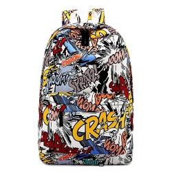 Модний рюкзак хіп-хоп з малюнком графіті