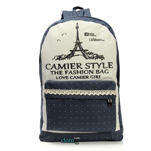 Рюкзак з малюнком Парижа