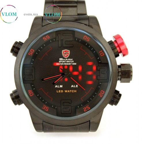 Купити в інтернет магазині недорого чоловічий годинник Shark Army ... 741e1edf23fe1