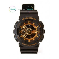 Чоловічий годинник Casio G-Shock GA 110 Gold edition