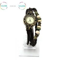 Жіночий вінтажний годинник браслет Ely