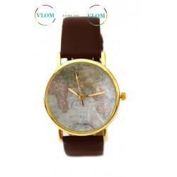 Жіночий ретро годинник Земля